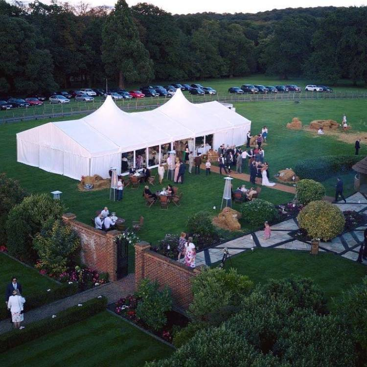 Why a Marquee is the perfect party venue...
