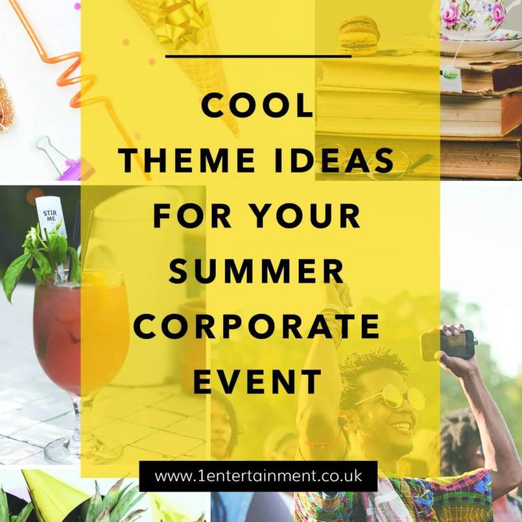 Corporate Event Ideas for the Summer | 1 Entertainment